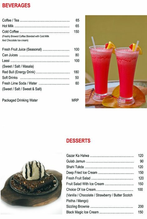Chef's Bank menu 7