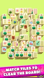 Mahjong Spring Flower Garden- screenshot thumbnail