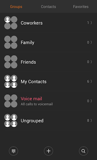 Download Theme for ExDialer MIUI Dark on PC & Mac with AppKiwi APK