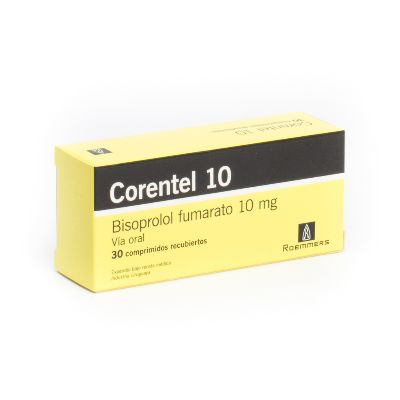 Bisoprolol Corentel 10 mg x 30 Comprimidos