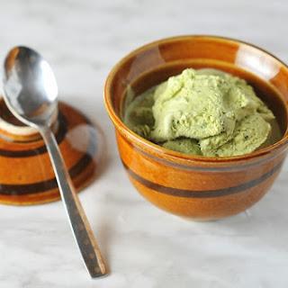 Easy Matcha Ice Cream