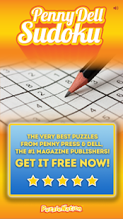 Penny Dell Sudoku- screenshot thumbnail