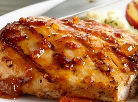 Peachy Chicken Recipe