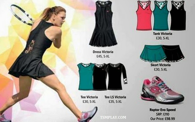 the new outfit of Australian open 2015 by lotto