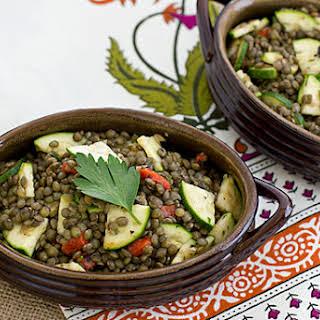 Herbed French Lentil Salad.