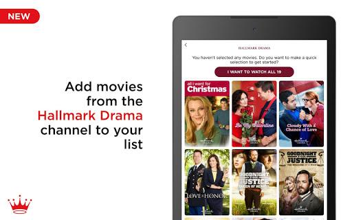 Hallmark Movie Checklist screenshots 10