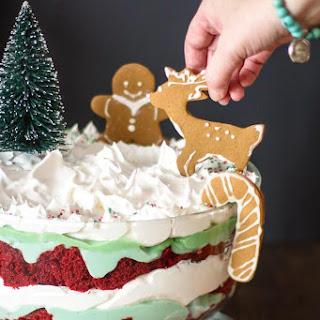 Easy Christmas Trifle.