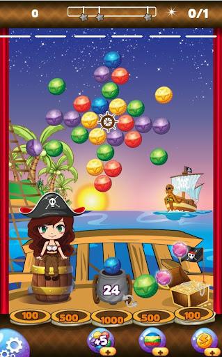 Pirate Bubble Game