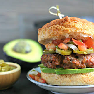 Grilled Taco Turkey Burgers.