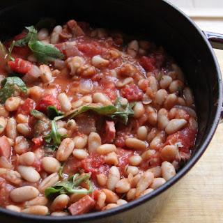 Winter White Bean Stew with Smoky Speck Alto Adiege