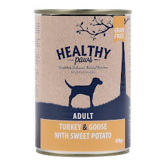 Healthy paws 400gr x 6-pack