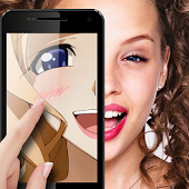 Anime face photo editor