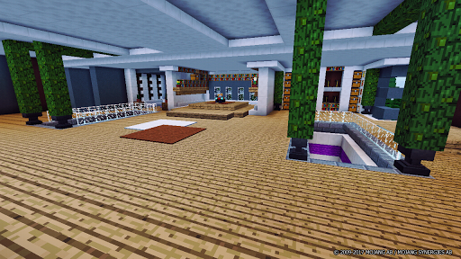 Super Mansion Minecraft Map for PC