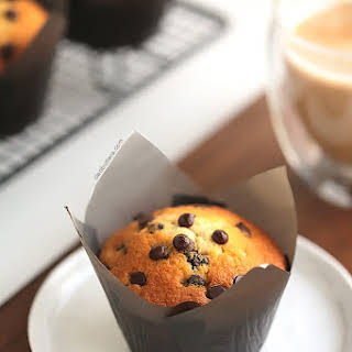 Unbelievable Chocolate Chip Muffins.