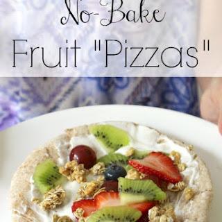 """No-Bake Fruit """"Pizzas"""""""