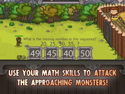 King of Math Defense Screenshot