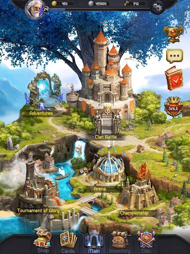 Card Heroes - CCG game with online arena and RPG 2.3.1833 screenshots 21