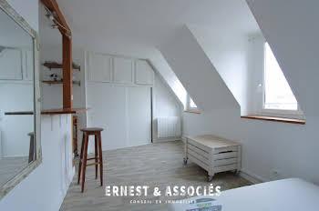 Studio meublé 13,95 m2