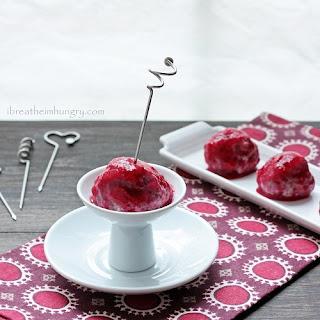 Festive Turkey Meatballs w/ Cranberry Glaze – Low Carb/Gluten Free