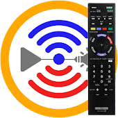 Remote for Sony TV & Sony Blu-Ray Players MyAV