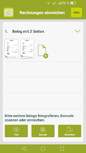 DKV RechnungsApp screenshot 4