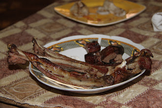 Photo: Goat ribs and Boulfaf, delicacies of Eid