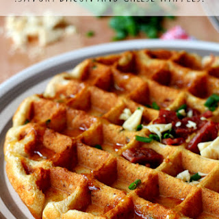 Savory Bacon and Cheese Waffles Recipe