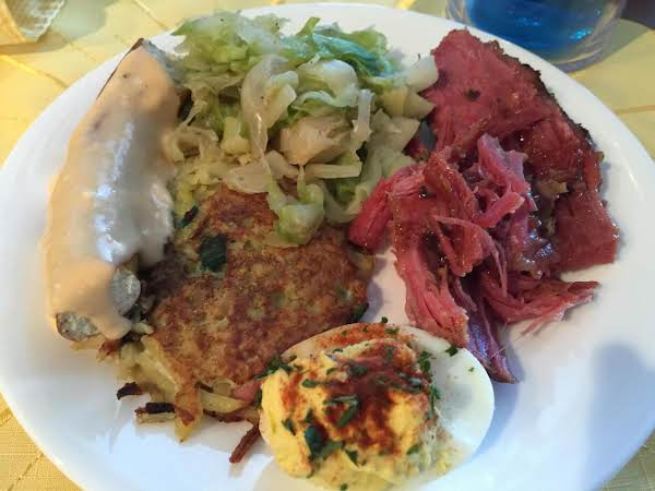 Ham & Potato Pancakes Recipe