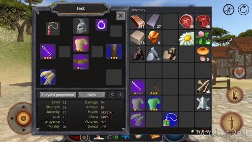 World Of Rest: Online RPG 1.34.2 screenshots 10