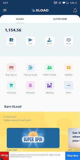 XLOAD - Free Universal Prepaid Top-Up Everyday 2.0.7 Screenshots 2