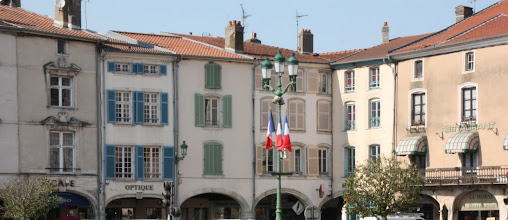 Photo: Day 22 - Arched Buildings in the Town of Pont a Mousson #2