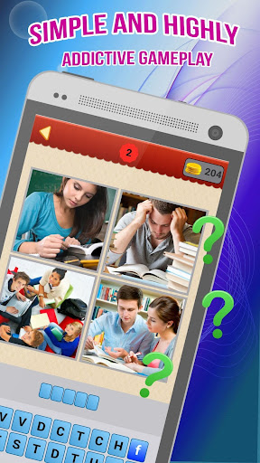 Fun: 4 Pics 1 Word game (apk) free download for Android/PC/Windows screenshot