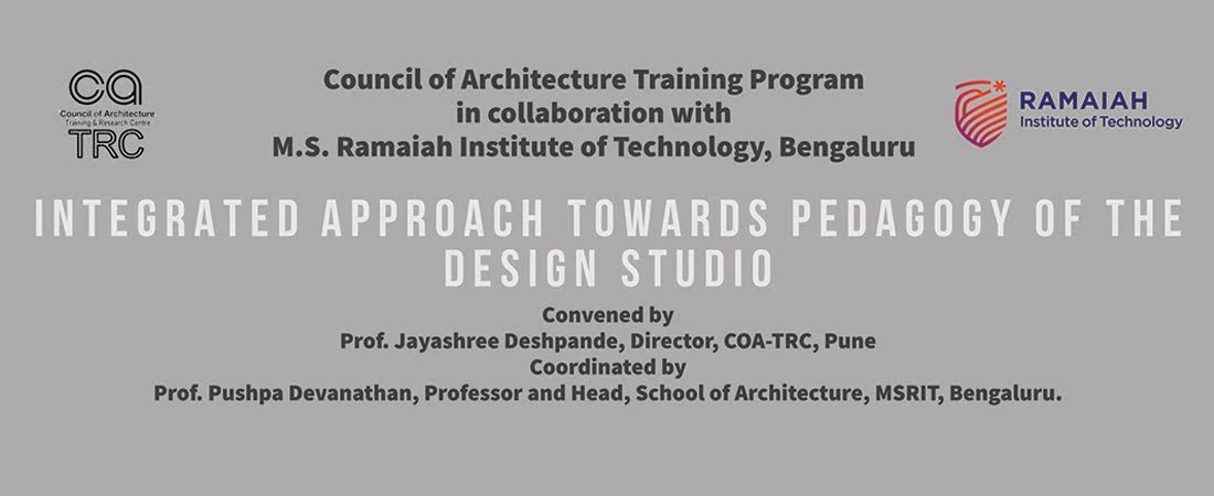 Integrated approach towards Pedagogy of the Design Studio