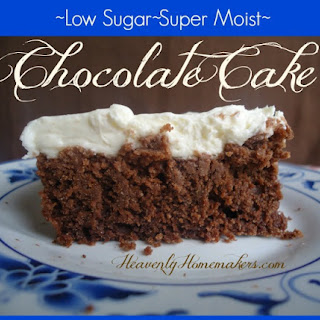 So You Wanted a Low Sugar Chocolate Frosting for your Low Sugar Chocolate Cake?