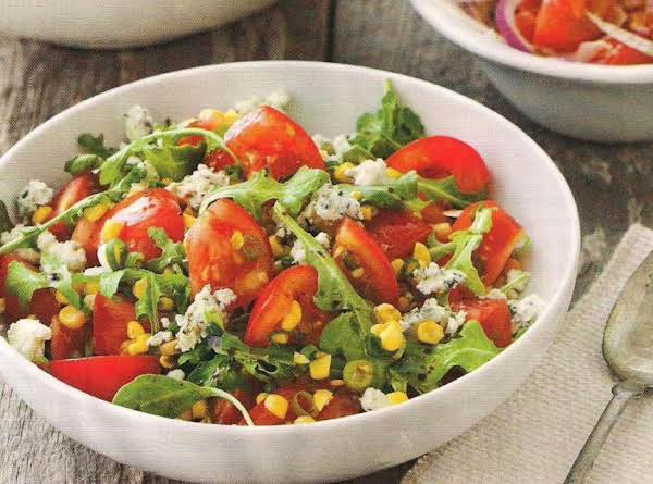 """rhapsody In Blue Cheese"" Tomato Salad Recipe"