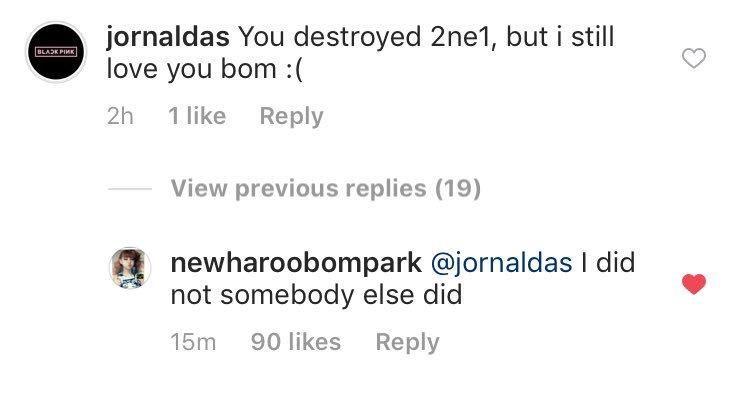 park bom 2ne1 destroyed