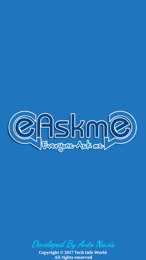 eAskme : Ask Me Anything- screenshot