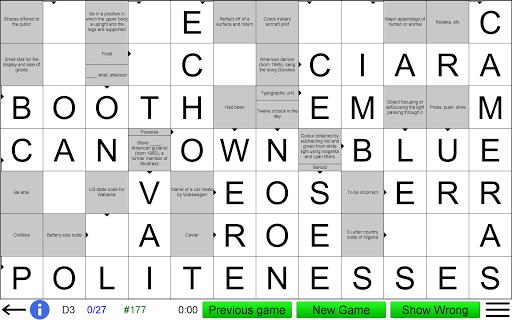 Arrow Crossword screenshots 16