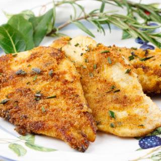 Herbed Breaded Chicken.