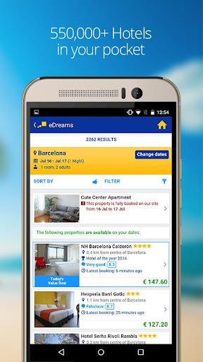 eDreams-Flights, Hotels & Cars 4.88.0 screenshots 5