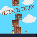 Save Our World - 2D Stack Tower Game