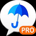 雨降りアラートPRO - お天気ナビゲータ icon