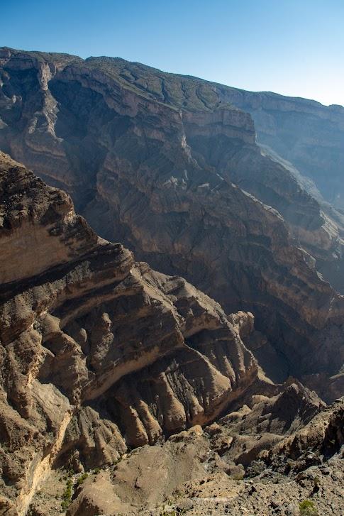 Balcony Walk, Wadi Ghul, Wielki Kanion Omanu, Oman