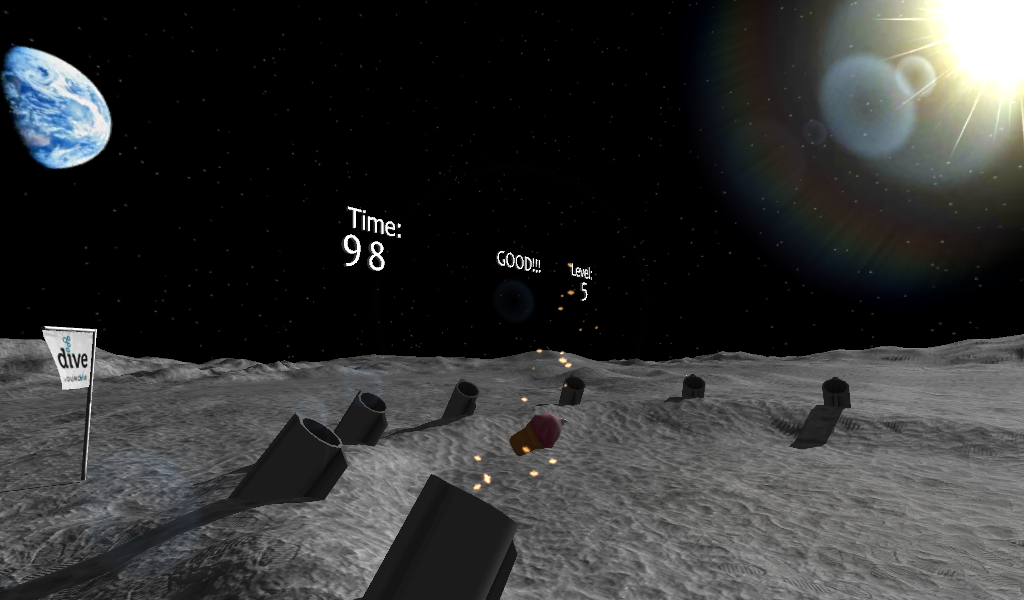 Food on the Moon- screenshot