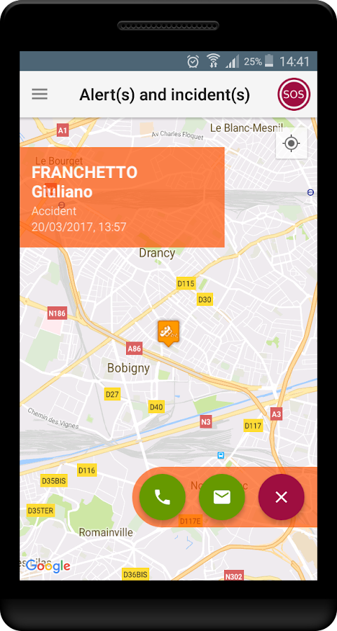 Connected Worker Risk Manager- screenshot