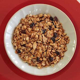 Walnut Raisin (or Date) Granola