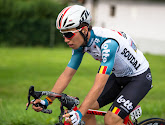 Bjorg Lambrecht n'a pas été oublié aux Championnats d'Europe de cyclisme sur route