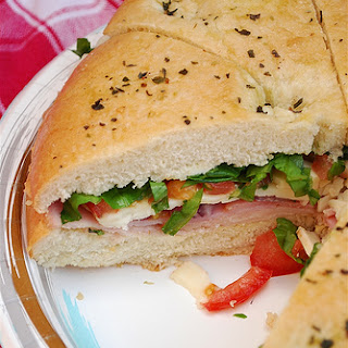 Tailgate Sandwich}Picnic Food