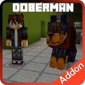 Doberman Dog Add-on for Minecraft