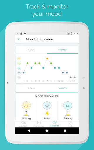 Moodpath: Depression & Burnout app (apk) free download for Android/PC/Windows screenshot